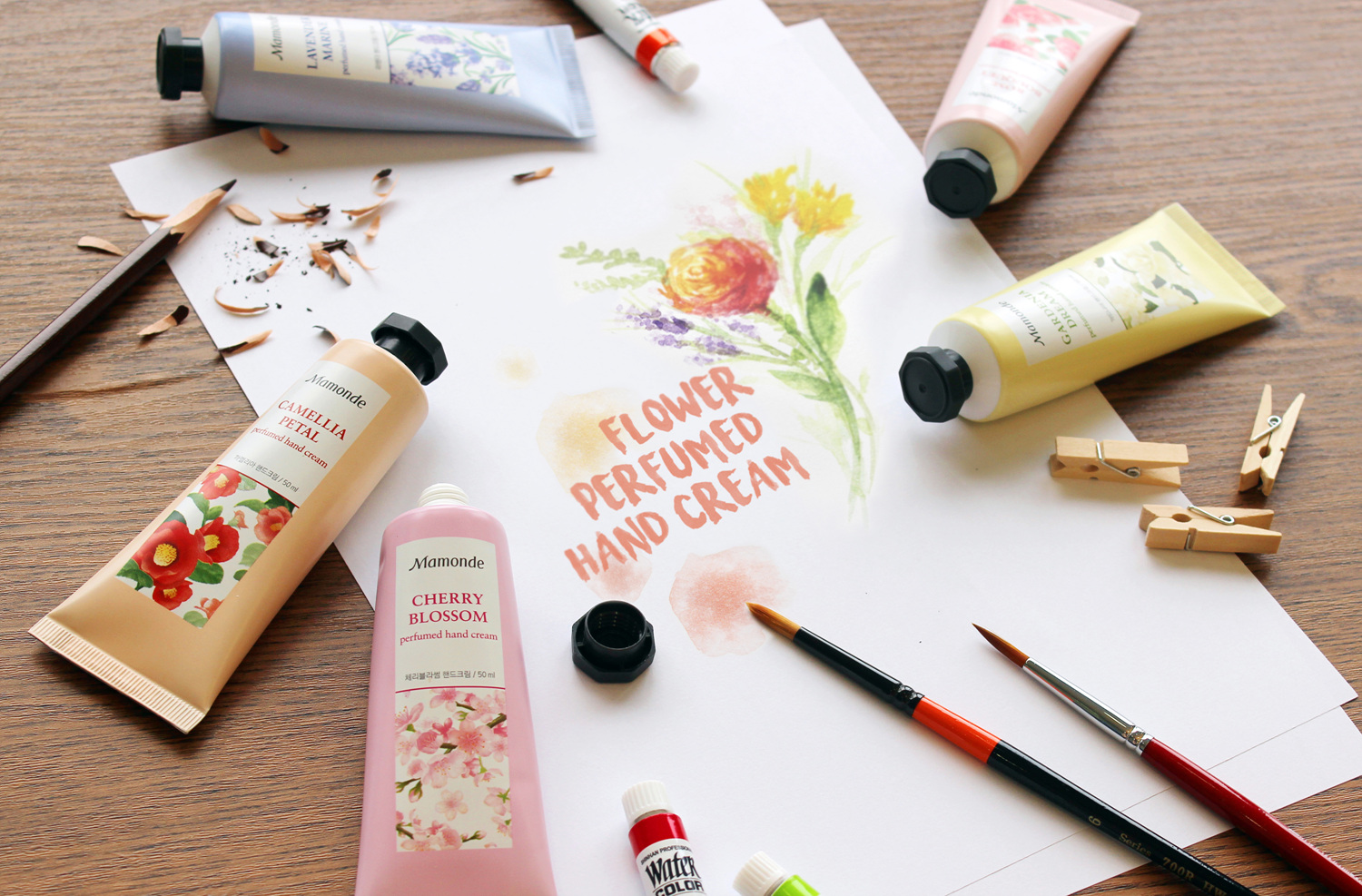 Mamonde Malaysia Complimentary Flower Touch Hand Massage