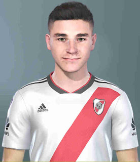 PES 2019 Faces Julián Álvarez by SeanFede