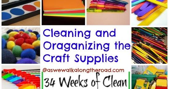 Organzing Small Craft Room