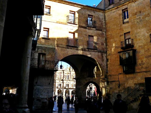 Plaza del Corrillo Salamanca