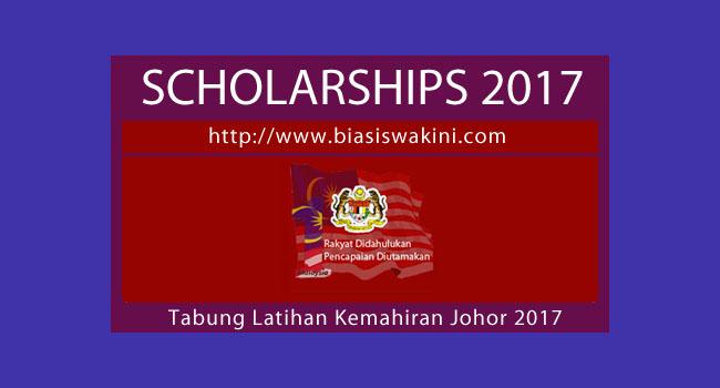 Tabung Latihan Kemahiran Johor 2017