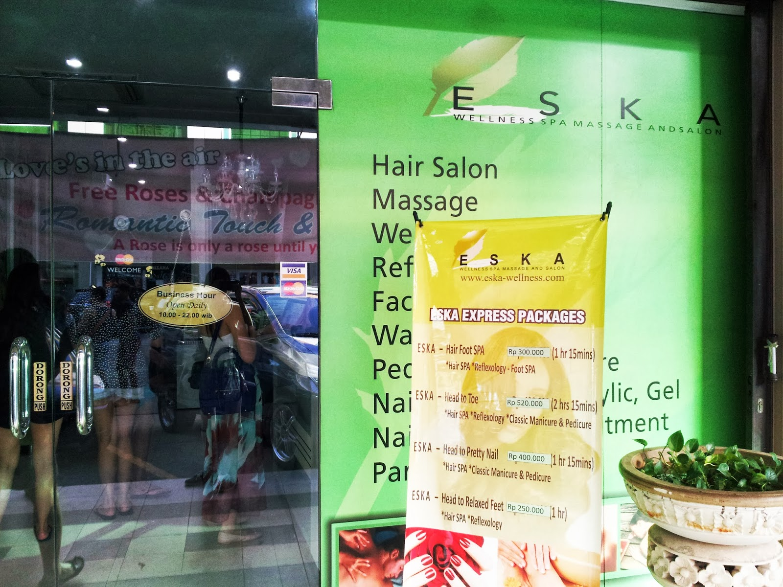 Eska Wellness Spa Massage and Salon (Batam) - Amie Hu | Food