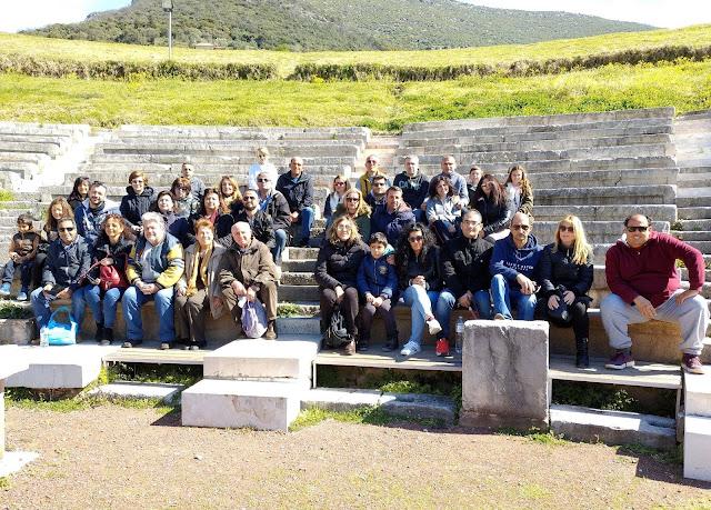 Το Σχολείο Δεύτερης Ευκαιρίας Ναυπλίου στην Αρχαία Μεσσήνη