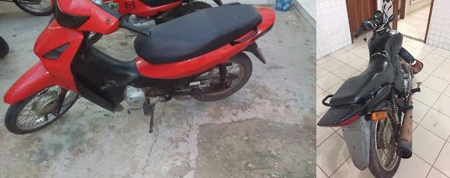 Polícia Militar de Chapadinha recupera duas motocicletas roubadas