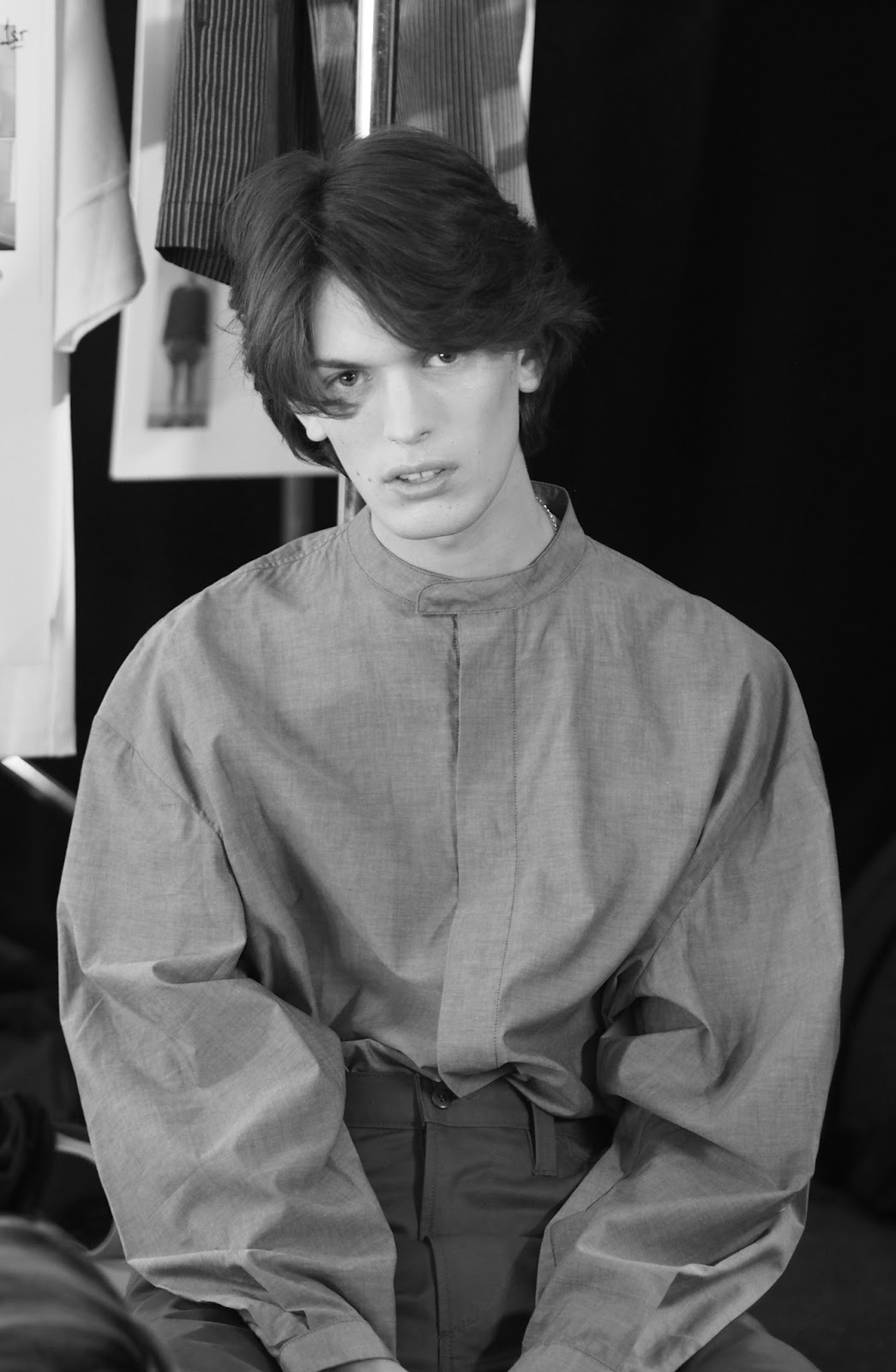 Backstage At The E. Tautz SS17 Show