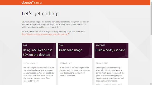 Conheça o novo site de tutoriais da Canonical: o Ubuntu Tutorials