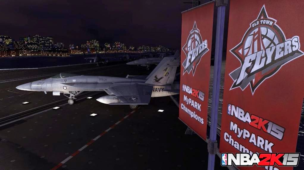 NBA 2K15 Old Town Flyers MyPARK Aircraft