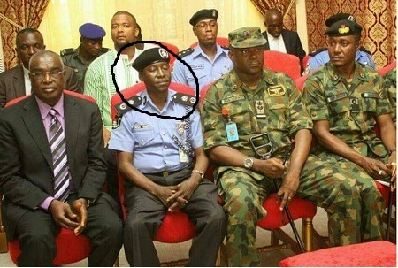 Rivers State Commissioner of Police Caught Dozing Off During Security Meeting (Photo)