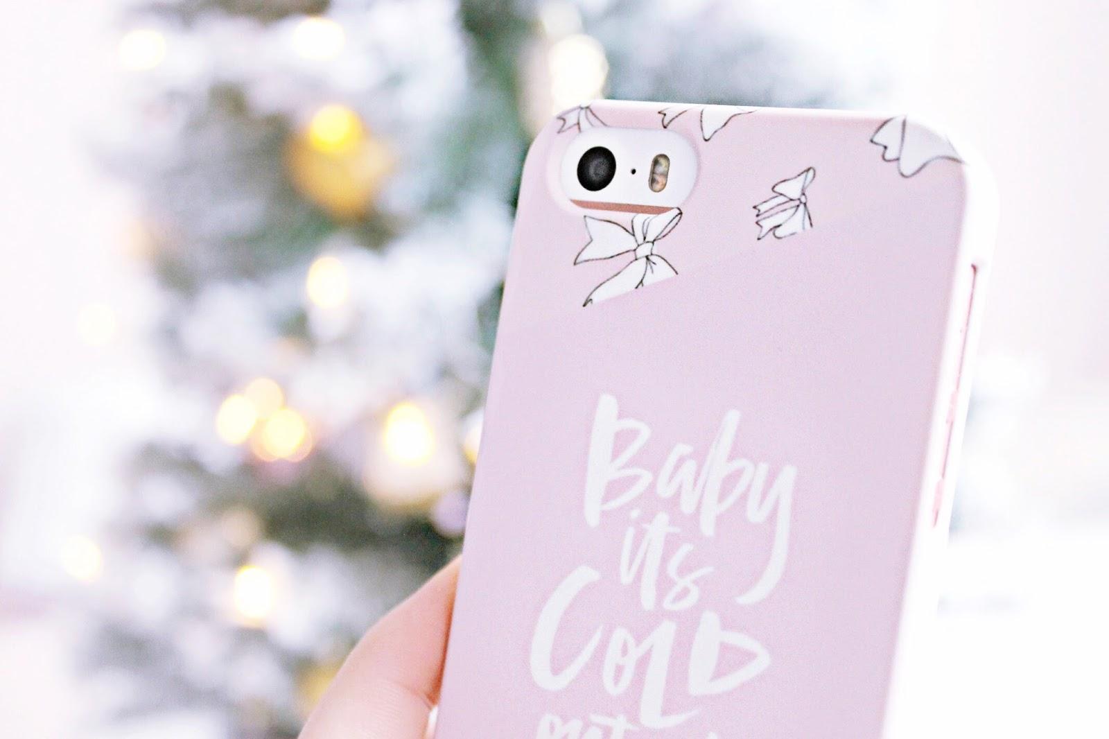 Caseapp winter phone case