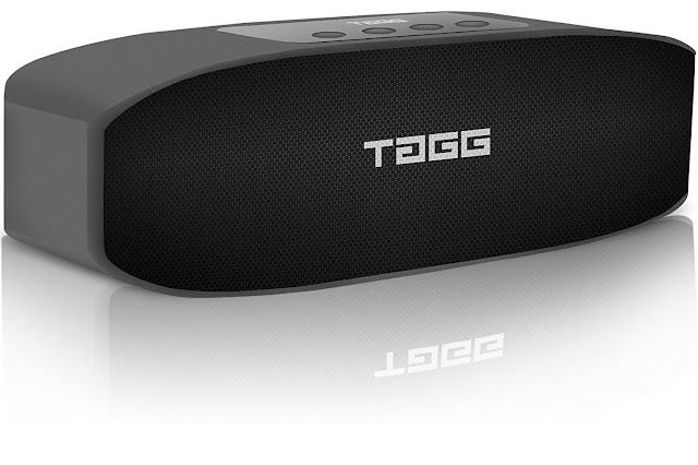 """LOOP"" Portable Bluetooth Speaker by TAGG. We bet you'll go WOW!"