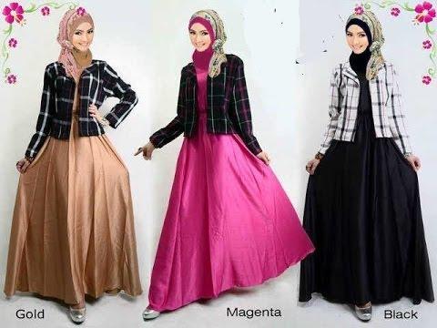 Gamis Modern Remaja Dan Batik Model Terbaru Magone 2016