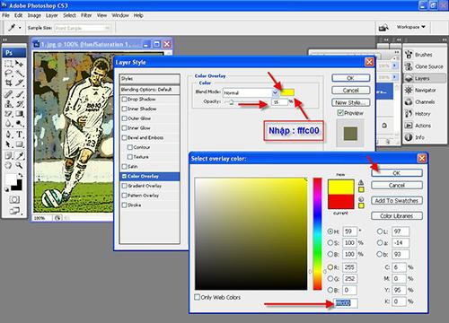 Cách tạo tranh vẽ từ hình ảnh bằng photoshop-5