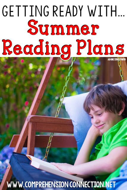Need summer reading ideas for your child/student? Check out this post about a Cyber Book Club hosted by Comprehension Connection.