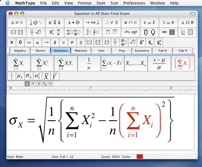 mathtype openoffice