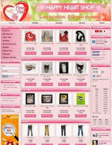 thiết kế website lưu niệm giá rẻ