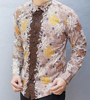 Model Baju Batik Panjang Pria