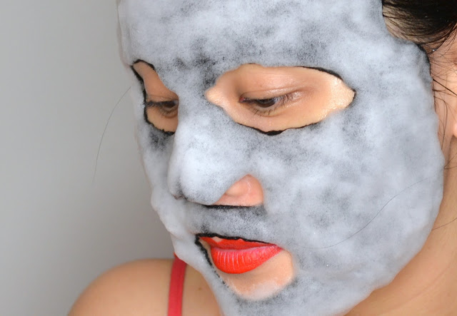 MaskerAide Bubble Bubble Pop Charcoal Bubble Sheet Mask