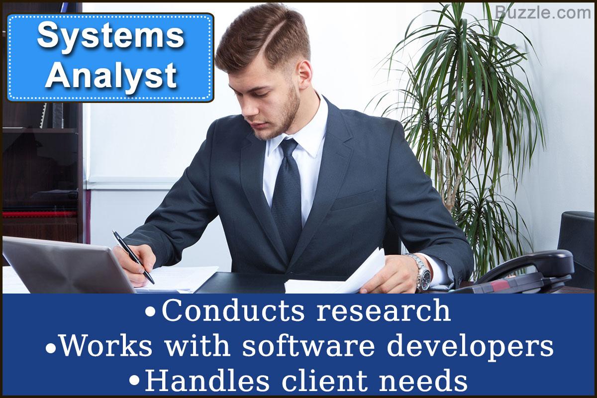 Systems Analyst Job Description Their Duties And Responsibilities – System Analyst Job Description