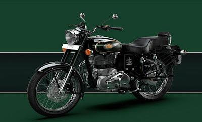 Royal Enfield Bullet 500 Green edition