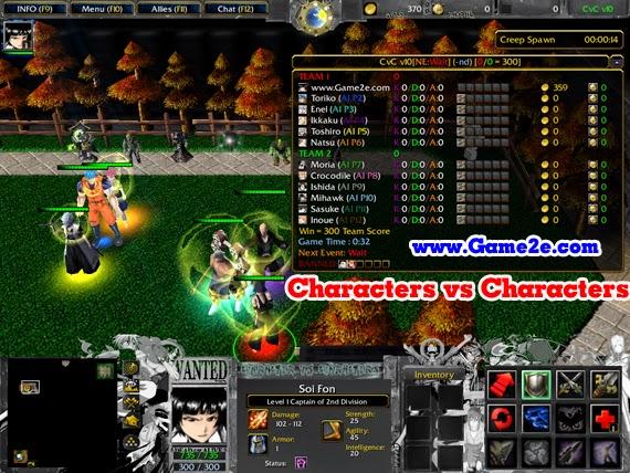 Characters Vs Characters V11