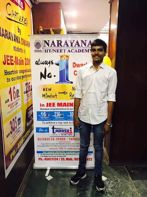 Arsh Gautam, native of Begusarai, Bihar scores more marks than Bihar topper in JEE Advanced Exam