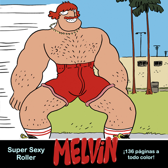 shoo bop Melvin illustration drawing comic