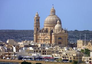 La rotonda de Xewkija, isla de Gozo.