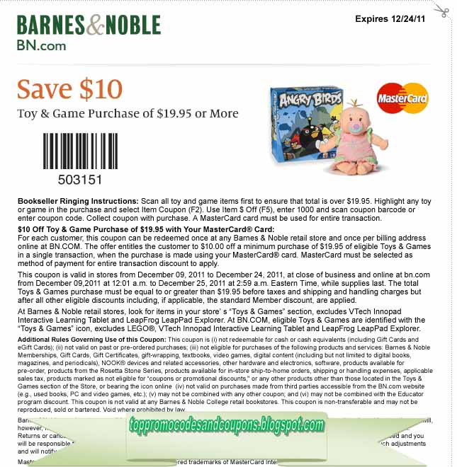photograph regarding Barnes and Noble Printable Coupon known as barnes and noble coupon code free of charge shipping and delivery