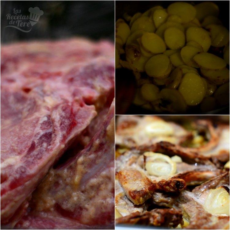 Chuletas de cerdo al horno a la mostaza 02