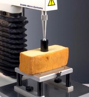 Cylinder probe test on cake