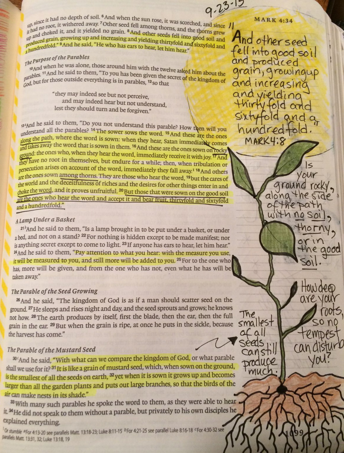 life at tracey speed bible journaling mark