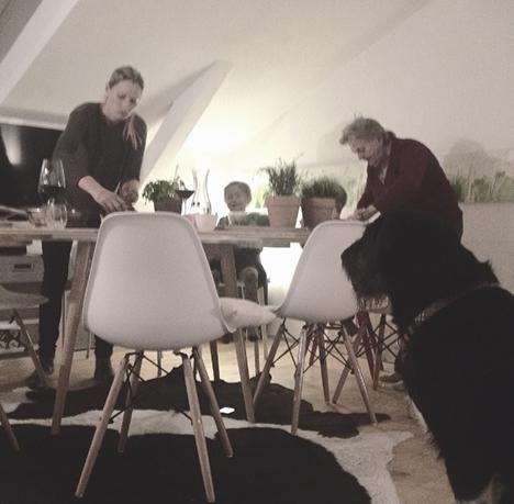 Prosciutto di San Daniele Abendessen mit Family_My Kitchen Logbook by Marlene Grünzweil