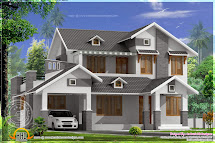 House with Sloping Roof