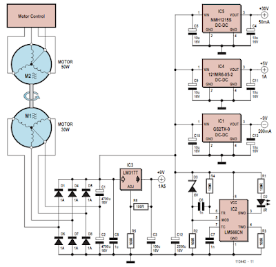 Power Supply Circuit Diagram