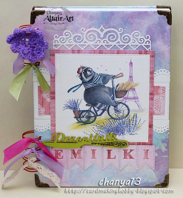 53. Różowo-fioletowy przepiśnik