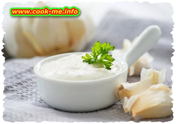 Garlic and yogurt sauce