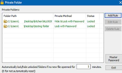 Mengunci folder dengan password di windows 10-gambar 1