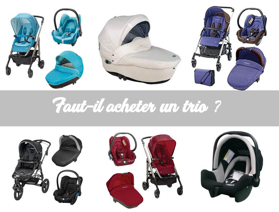 faut il acheter un trio pour bébé ?