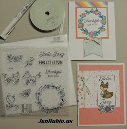 Do you like blog hops? Here is the latest Stamp of the Month Blog Hop I participated in!