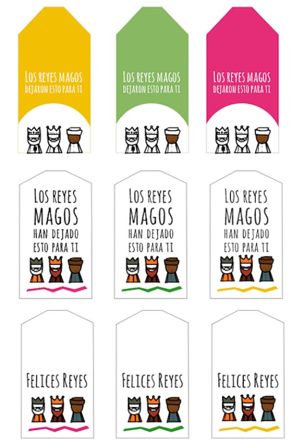 10 etiquetas para regalos gratis- imprimibles