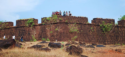 Cinema inwards Republic of Republic of India is similar brushing your teeth inwards the morning time IndiaTravel; Chapora Fort, Goa – The Dil Chahta Hai Fort