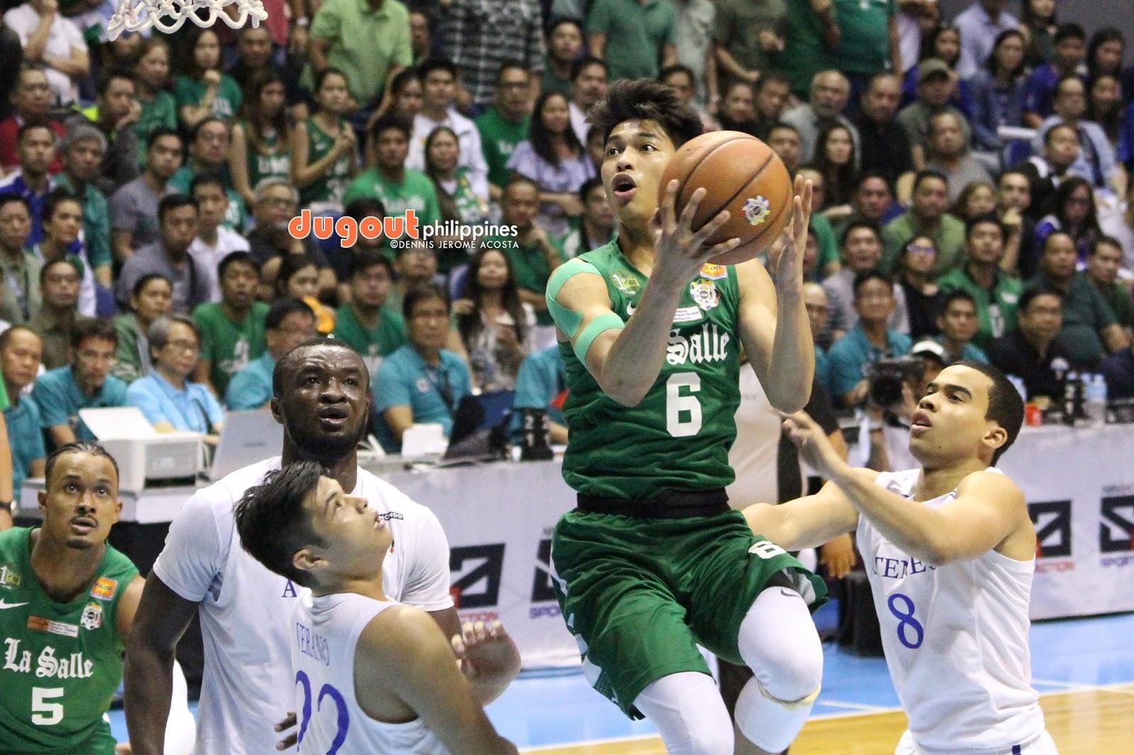 UAAP: Ricci Rivero leaves La Salle