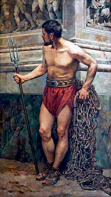 lottatori greco romana mediante erezione