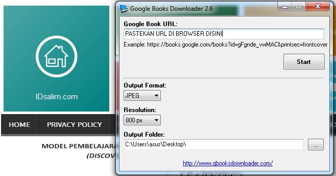 Cara Mendownload Buku Di Google Book Tanpa Software Download ...