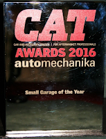 CAT Award 2016 Small Garage of the Year