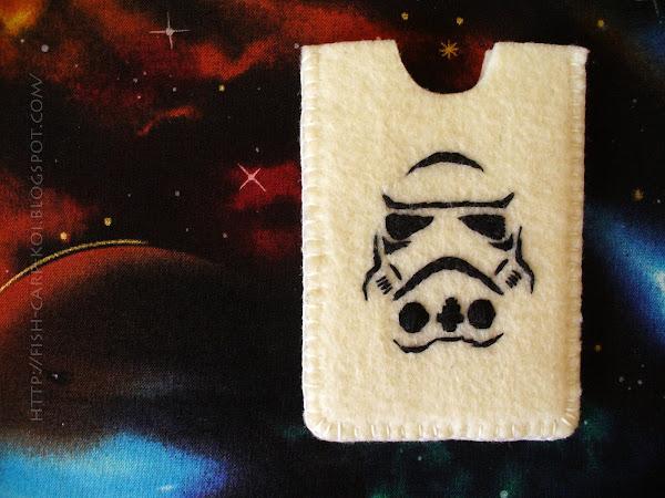 """Комплект для поклонников """"Звездных войн"""" - холдер для карты """"Stormtrooper"""""""