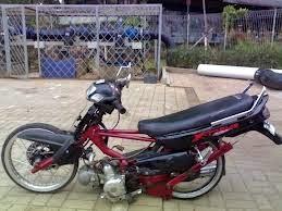 motor fiz r warna hitam modifikasi ceper