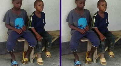 End Time: See Faces of Two Little Boys Who R*ped and Killed a One-year-old Girl by Throwing Her into a Pit Toilet (Photos+Video)