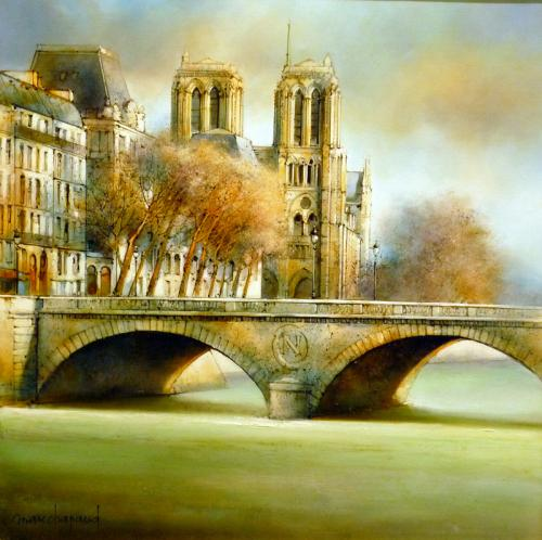 Marc Chapaud |1941 | French Landscape Painter
