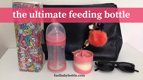 Fuelbaby Feeding Bottle | For Super Moms with Super Active Baby